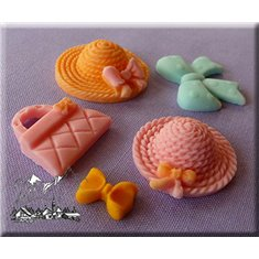 Alphabet Moulds - Summer Time Themed Mold