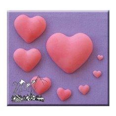 Alphabet Moulds - Καλούπι  - Απλές Καρδιές (Plain Hearts)