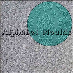 Damask Mat by Alphabet Moulds