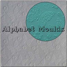 Καλούπι Σιλικόνης Πεταλούδες (Butterfly Mat) της Alphabet Moulds