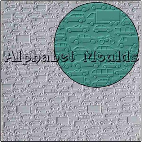 Καλούπι Σιλικόνης Αυτοκίνητα (Cars Mat) της Alphabet Moulds 81963c3f53e