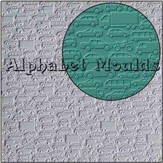 Cars Mat by Alphabet Moulds