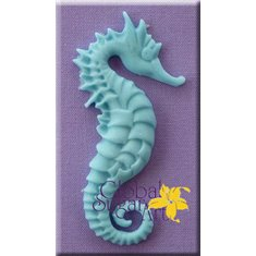 Seahorse Large Mold by Alphabet Molds in a Global Sugar Art design