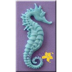 Καλούπι Ζαχαρόπαστας Ιππόκαμπος Μεγάλος σχέδιο της Global Sugar Art (Seahorse Large)