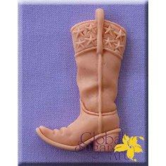 Καλούπι Ζαχαρόπαστας Καουμπόϊκη Μπότα σε σχέδιο της Global Sugar Art (Cowboy Boot)