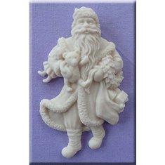 Καλούπι Ζαχαρόπαστας Παραδοσιακός Αι Βασίλης της Alphabet Moulds (Traditional Santa)