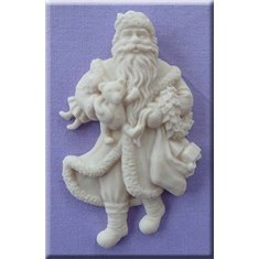 Traditional Santa Mold by Alphabet Molds