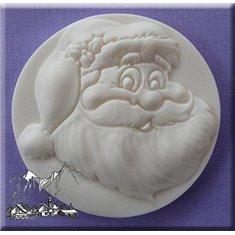 Καλούπι Ζαχαρόπαστας Αι Βασίλης της Alphabet Moulds (Santa)