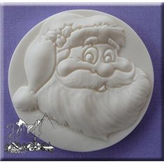 Santa Claus Mold by Alphabet Molds