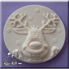 Reindeer Mold by Alphabet Molds
