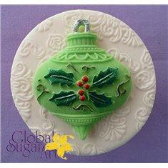 Καλούπι Ζαχαρόπαστας Χριστουγ. Μπάλα της Alphabet Moulds (Christmas Bauble)