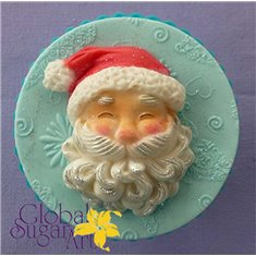 Santa Head Mold by Alphabet Molds