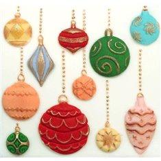 Καλούπι Σιλικόνης της Katy Sue - Χριστουγεννιάτικες Μπάλες (Christmas Baubles)