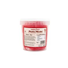 Red Modeling Paste By Saracino 1Kg