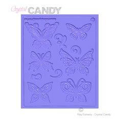 Πολυ-Καλούπι Δαντέλας Ζάχαρης - Πεταλούδες