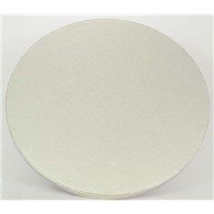 """10"""" Silver Round Drum (13mm Thick)"""