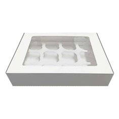 12 Cupcake Window Box and Insert