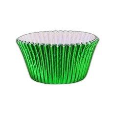 Καραμελόχαρτα Αλουμινίου Πράσινα Δ5xΥ3,75εκ 40 τεμ.