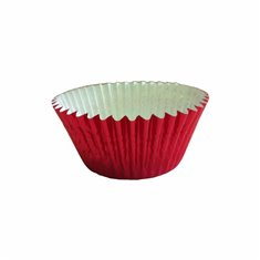 Red Foil Cupcake Cases (50mm x 37.5mm) x 40 pcs
