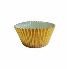 Gold Foil Cupcake Cases (50mm x 37.5mm) x 40pcs