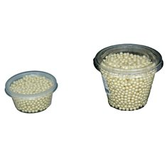 Champagne Pearlized - 5mm Pearls 1kg