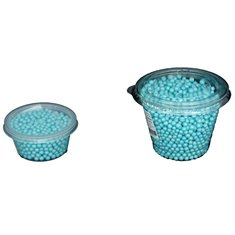 Light Blue Pearlized - 5mm Pearls 80 gr.