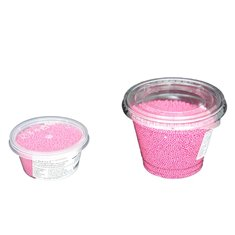 Non Pareil Pink polished  2-3mm 200 gr.