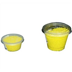Non Pareil Yellow polished  2-3mm 80 gr.
