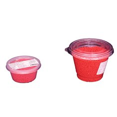 Non Pareil Red polished  2-3mm 80 gr.