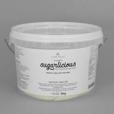 Ζαχαρόπαστα Sugarlicious Λευκό 3κ.