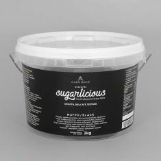 Ζαχαρόπαστα Sugarlicious Μαύρο 3κ.