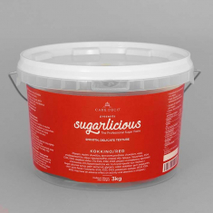 Sugarlicious Sugar Paste ready to Roll Red 3kg.