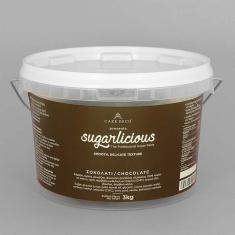 Ζαχαρόπαστα Sugarlicious Σοκολατί 3κ.
