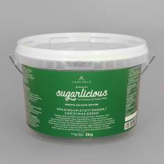 Ζαχαρόπαστα Sugarlicious Πράσινο Χριστουγέννων 3κ.