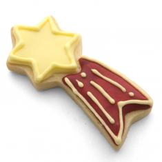 Metallic Cookie Cutter Shooting Star Cookie Cutter 4 in