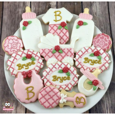 Baby Bottle Tin Cookie Cutter 4in.