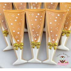 Champagne Glass Cookie Cutter 5in.