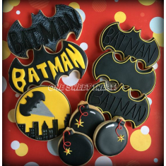 Bat Metallic Cookie Cutter 4 in