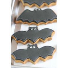 Μεταλλικό Κουπάτ Μίνι για cupcake Νυχτερίδα