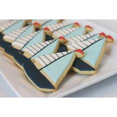 Μεταλλικό Μίνι Κουπάτ για cupcake Ιστιοπλοϊκό