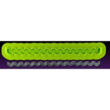 Καλούπι Διακόσμησης Ζιγκ-Ζαγκ Μικρό - Zig Zag Trim Mold 6d732fb7a5e