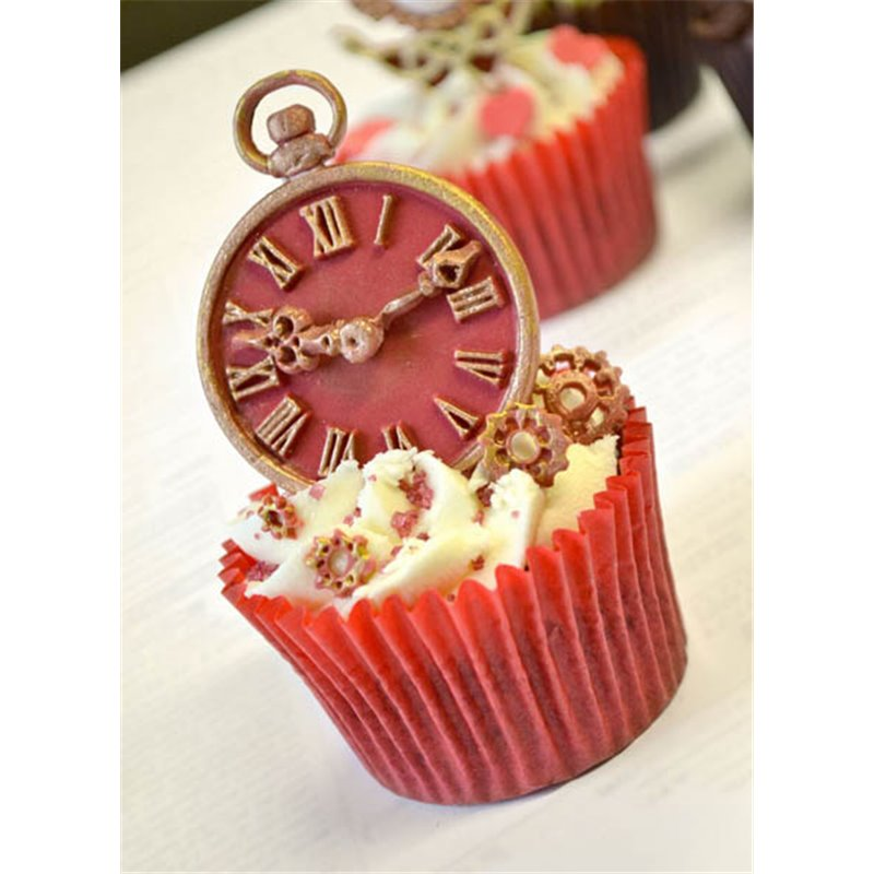 d373912e9f Καλούπι Σιλικόνης - Ρολόι (Clock) της Katy Sue