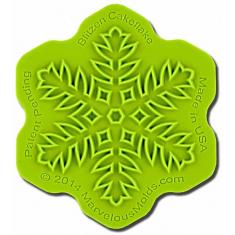 Καλούπι Διακόσμησης Νιφάδα Χιονιού - Blitzen Cakeflake
