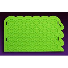 Καλούπι Πλευρικό Λέπια - Scalloped Lattice Silicone Onlay™