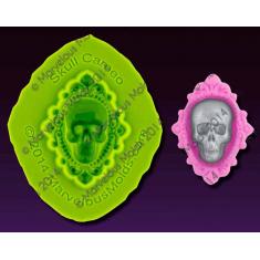 Καλούπι Διακόσμησης Κρανίο Κόσμημα - Skull Cameo Mold
