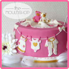 Katy Sue Moulds - Baby Clothes Washing Line