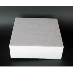 Styrofoam for Dummy cakes - Square 20x20xH07cm