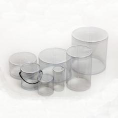 Κουτί PVC Gelatin Στρογγυλό Δ9xY3
