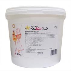 Λευκή Ζαχαρόπαστα SmartFlex Velvet 7κ. - Βανίλια