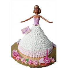 """Φόρμα Ψησίματος Τούρτας σε σχήμα φούστα Διαμ.20,32εκ (8""""in) της Silverwood"""